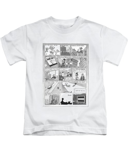 New Yorker December 7th, 1998 Kids T-Shirt
