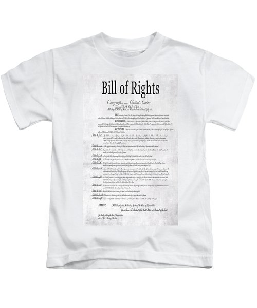 The Bill Of Rights H K Kids T-Shirt