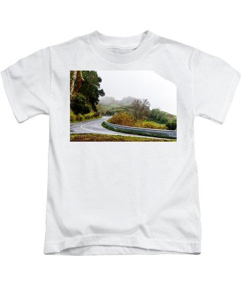 The Winding Road Kids T-Shirt