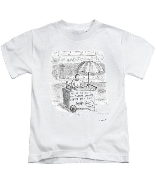 New Yorker September 12th, 2005 Kids T-Shirt