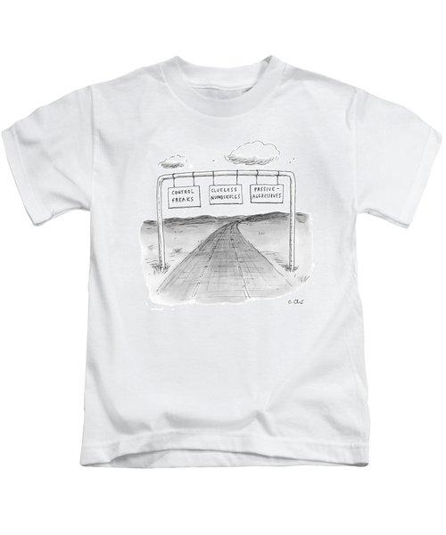 New Yorker September 7th, 2009 Kids T-Shirt