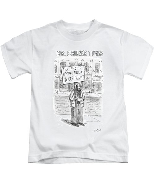 Mr. Science Times Kids T-Shirt