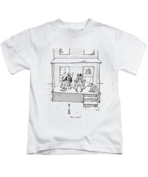 Were We Gay? Kids T-Shirt