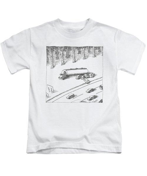 New Yorker June 12th, 2006 Kids T-Shirt