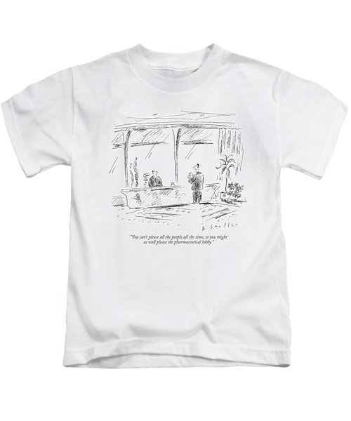 You Can't Please All The People All The Time Kids T-Shirt