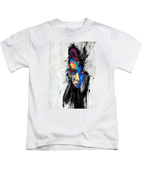 Facial Expressions Kids T-Shirt