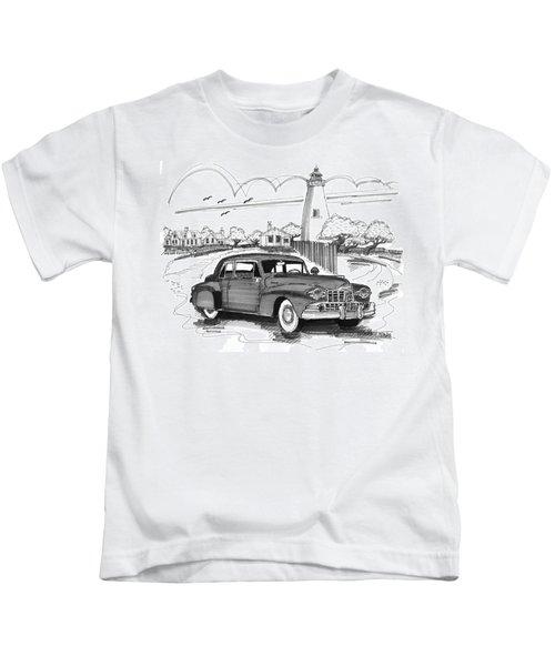 1948 Lincoln Continental Kids T-Shirt