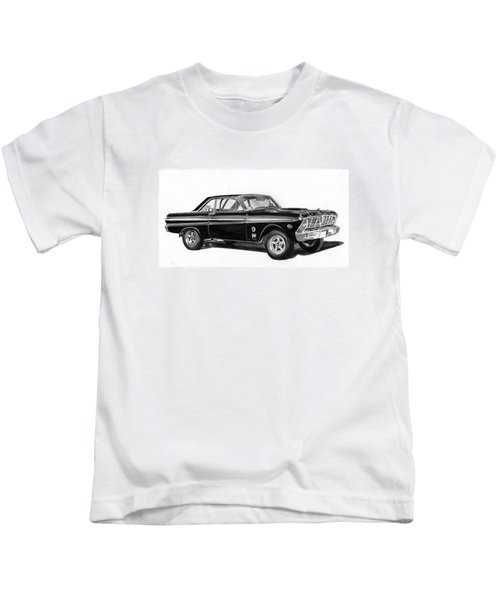 1965 Ford Falcon Street Rod Kids T-Shirt