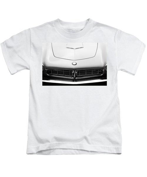 1958 Bmw 507 Series II Roadster Hood Emblem Kids T-Shirt