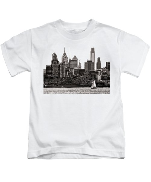 Center City Philadelphia Kids T-Shirt