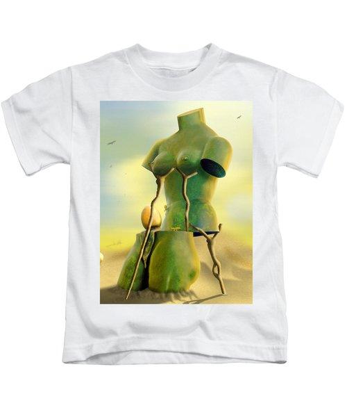 Crutches Kids T-Shirt