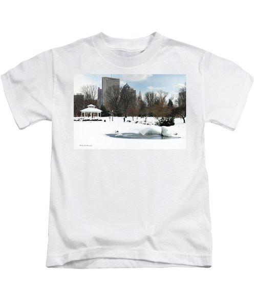 D48l3 Goodale Park Photo Kids T-Shirt