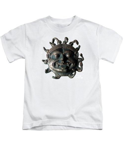 Gorgon Legendary Creature Kids T-Shirt by Photo Researchers