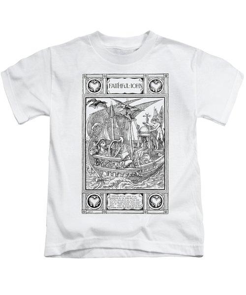 Grimm Faithful John Kids T-Shirt