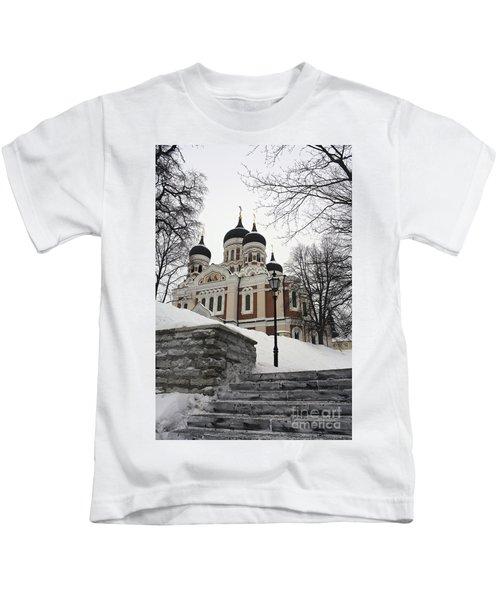 Tallinn Estonia Kids T-Shirt