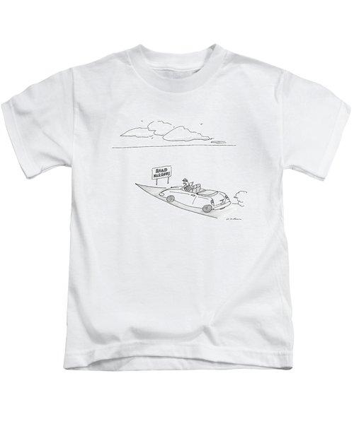 New Yorker December 19th, 2016 Kids T-Shirt