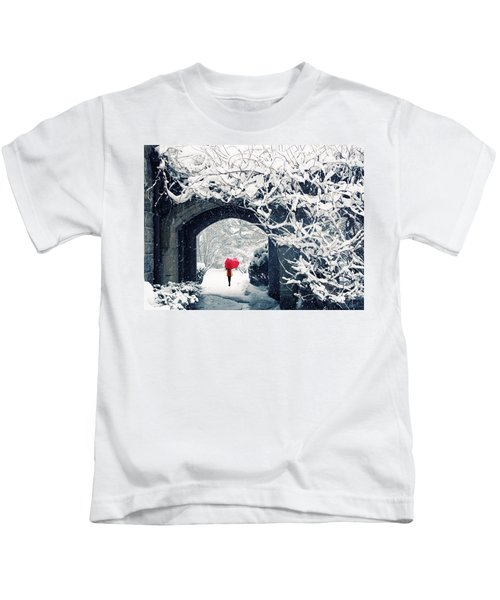 Winter's Lace Kids T-Shirt
