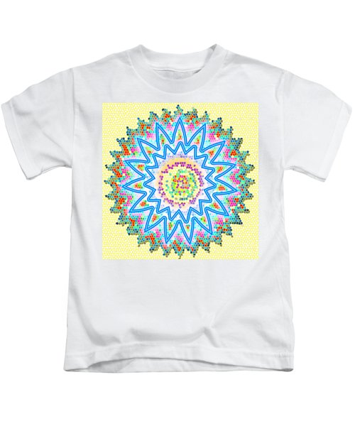 Colorful Signature Art Chakra Round Mandala By Navinjoshi At Fineartamerica.com Rare Fineart Images  Kids T-Shirt