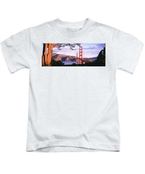 Golden Gate Bridge, San Francisco Kids T-Shirt