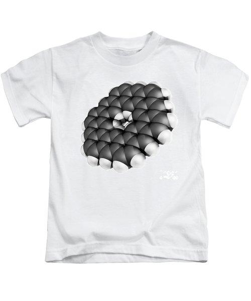 Kekulene Hydrocarbon Molecule Kids T-Shirt