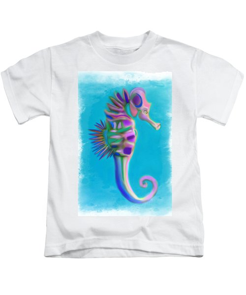 The Pretty Seahorse Kids T-Shirt