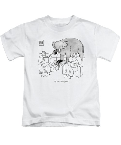 No, This Is The Elephant Kids T-Shirt