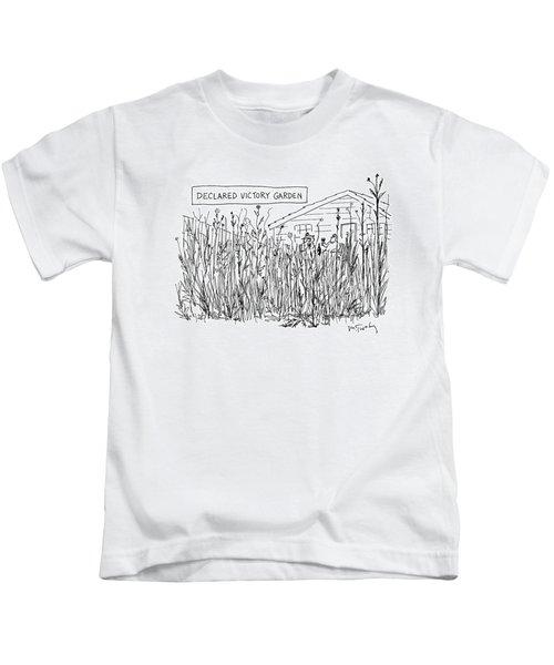 Declared Victory Garden Kids T-Shirt