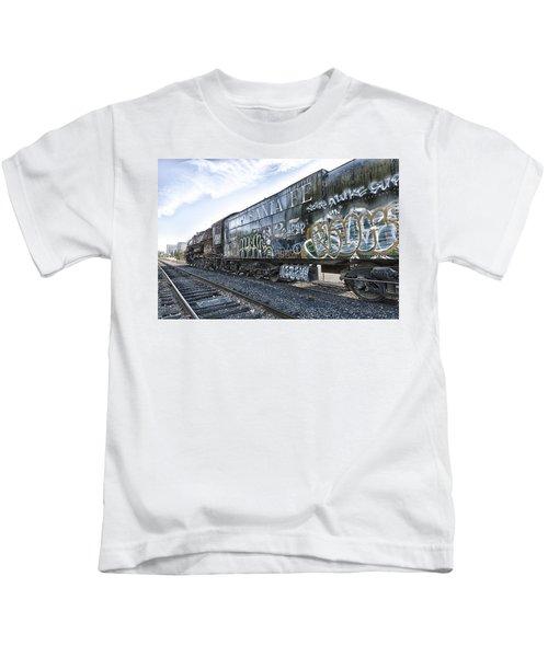 4 8 4 Atsf 2925 In Repose Kids T-Shirt