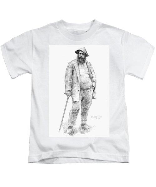 Claude Monet (1840-1926) Kids T-Shirt