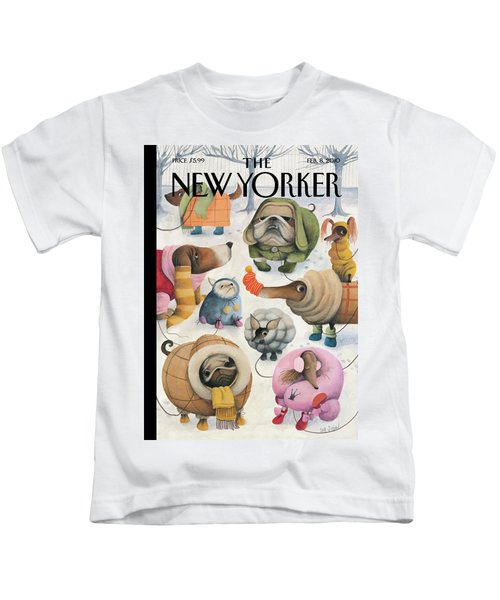 New Yorker February 8th, 2010 Kids T-Shirt