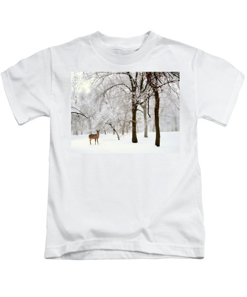 Winter's Breath Kids T-Shirt