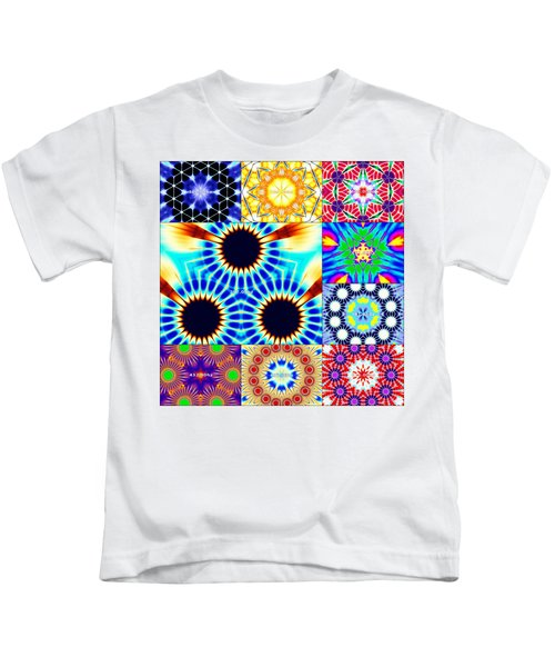 432hz Cymatics Grid Kids T-Shirt