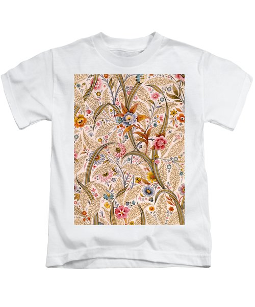 Marble End Paper  Kids T-Shirt