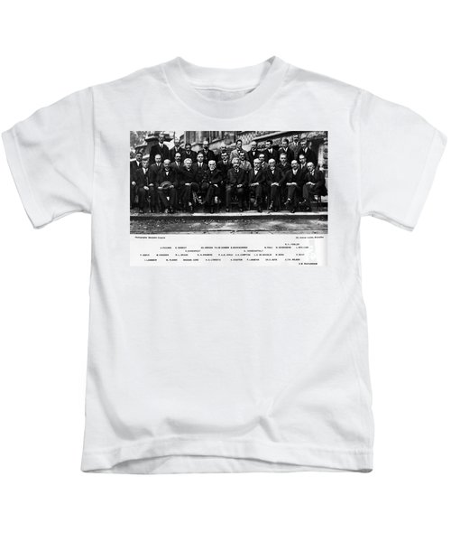 5th Solvay Conference Of 1927 Kids T-Shirt