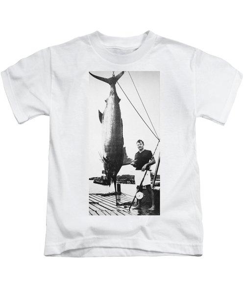 Ernest Hemingway (1899-1961) Kids T-Shirt