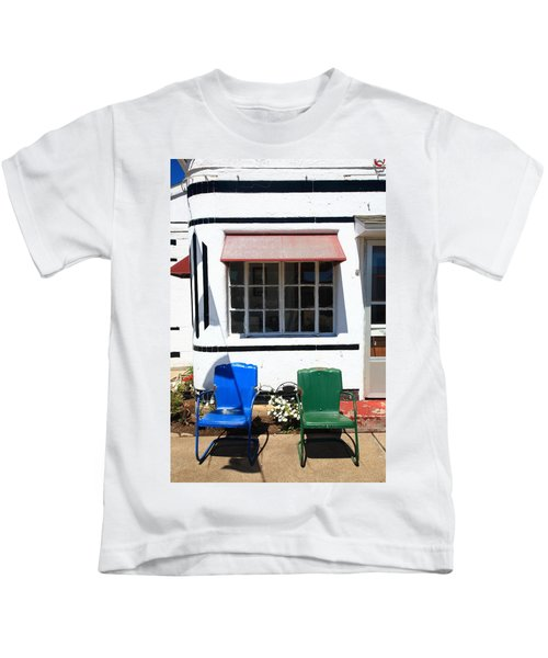 Route 66 - Boots Motel Kids T-Shirt