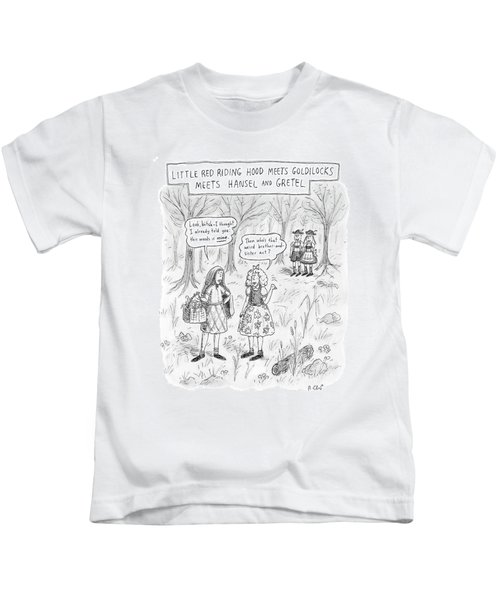 New Yorker April 16th, 2007 Kids T-Shirt