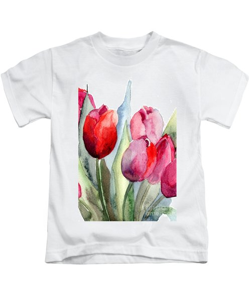 Tulips Flowers Kids T-Shirt