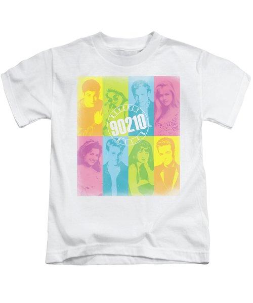 90210 - Color Block Of Friends Kids T-Shirt
