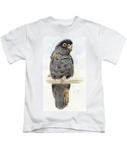A Black Cockatoo Kids T-Shirt