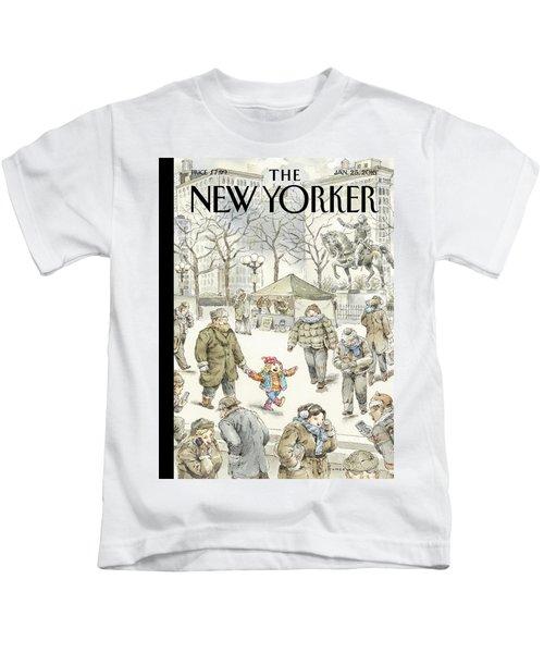 Winter Delight Kids T-Shirt