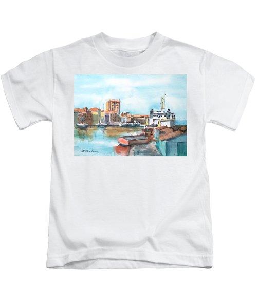 A Curacao Morning Kids T-Shirt