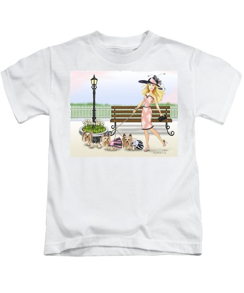 A Day At The Derby Kids T-Shirt