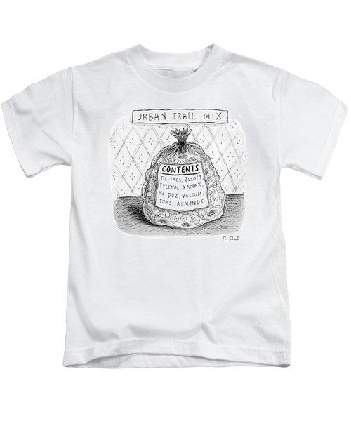 Urban Trail Mix Kids T-Shirt