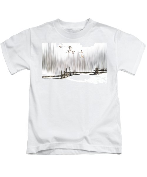A Little Winter Magic Kids T-Shirt
