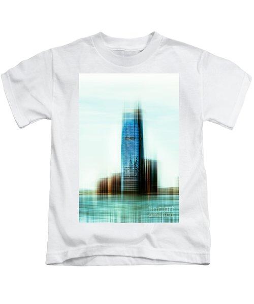 A Look To New Jersey II - Steel Kids T-Shirt