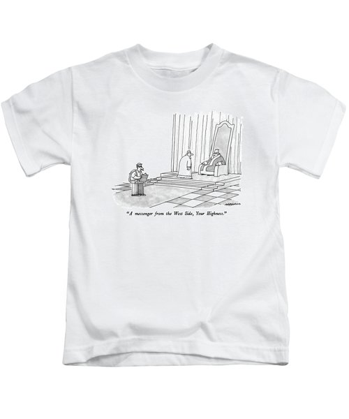 A Messenger From The West Side Kids T-Shirt