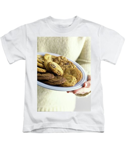 A Plate Of Cookies Kids T-Shirt