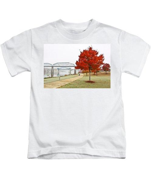 A Soft Autumn Day Kids T-Shirt