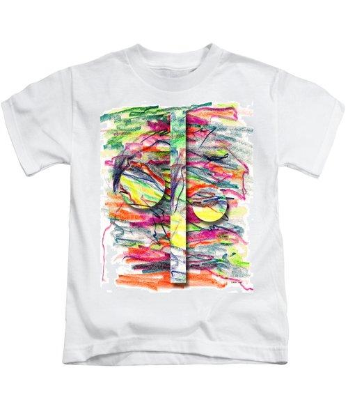 A Summers Day Breeze Kids T-Shirt